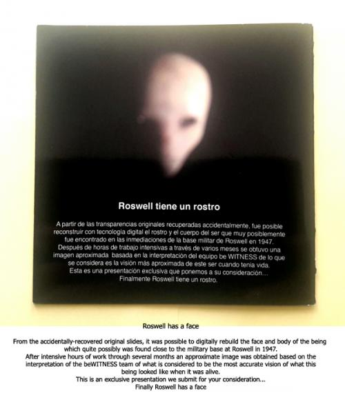 beWITNESS Face of Roswell Event Brochure