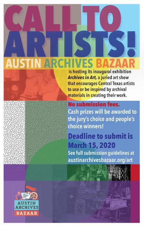 Austin Archives Bazaar's - Archives in Art Contest